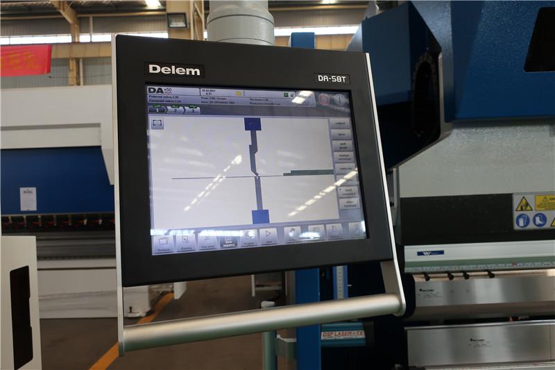 ඩෙලම් DA58T 2D CNC පද්ධතිය
