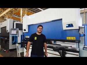 6-Axis CNC Press Brake Euro Pro B32135 ඕස්ටේ්රලියානු පාරිභෝගිකයන් හරහා විල ක්ලෑං පද්ධතිය සමඟින්
