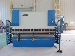 300t * 4000 heavy duty 4 axis da52s cnc press brake